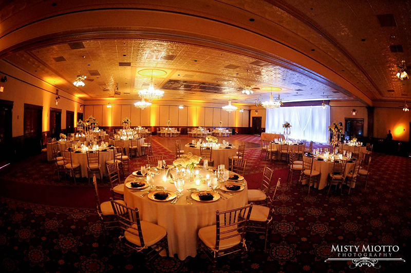 Ballroom at Churchstreet wedding