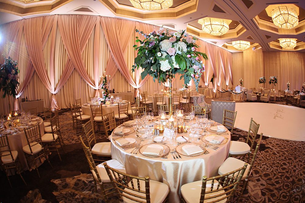 Four Seasons Wedding Lighting