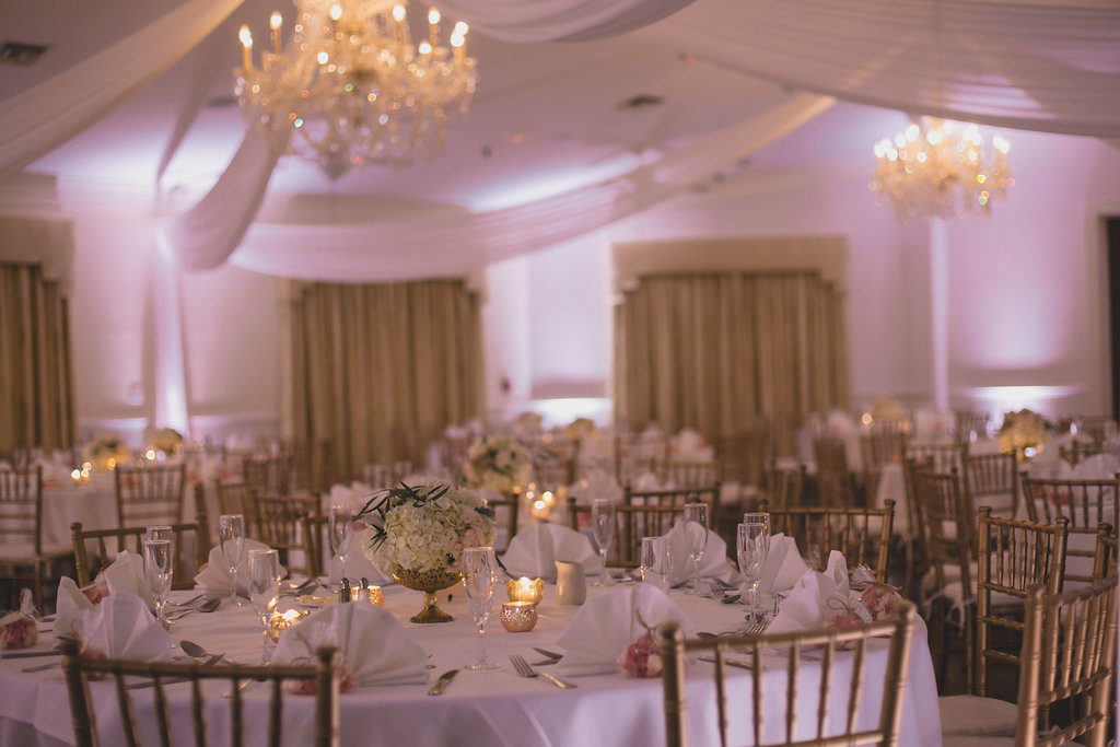 Blush Pink and Gold Highland Manor Wedding DJ
