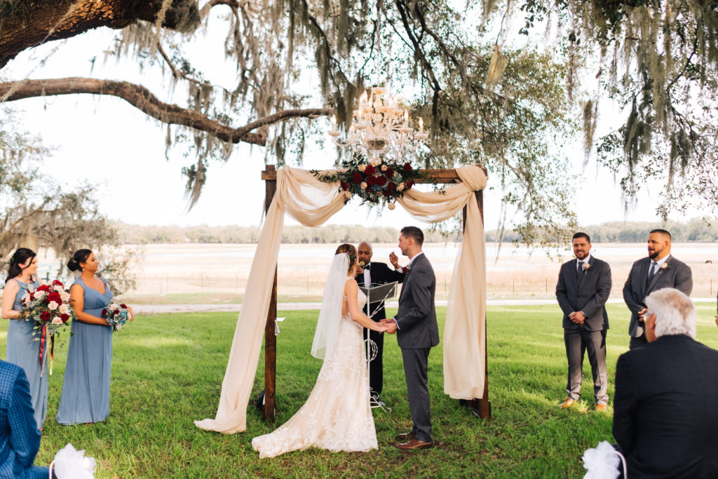 Lakeside Ranch Wedding Florida