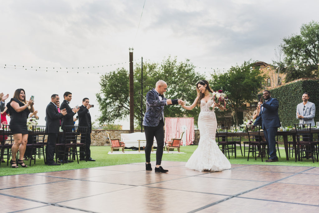 Outdoor Bella Collina Wedding