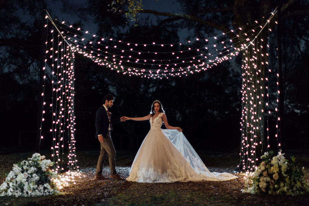 Amazing Wedding Lighting