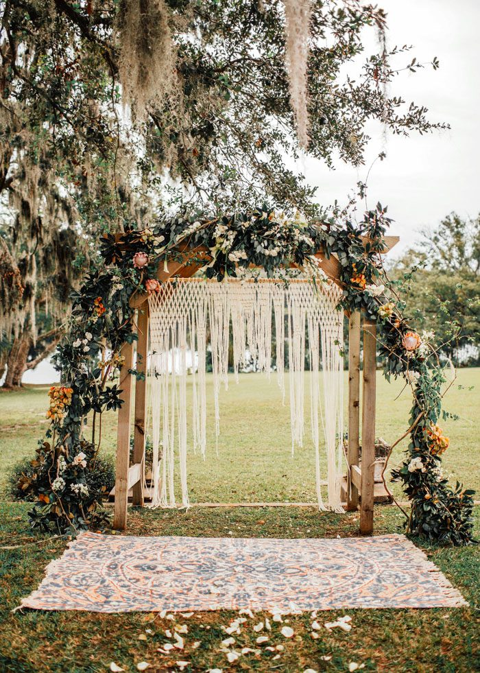 Sydonie Mansion Florida Bohemian Wedding