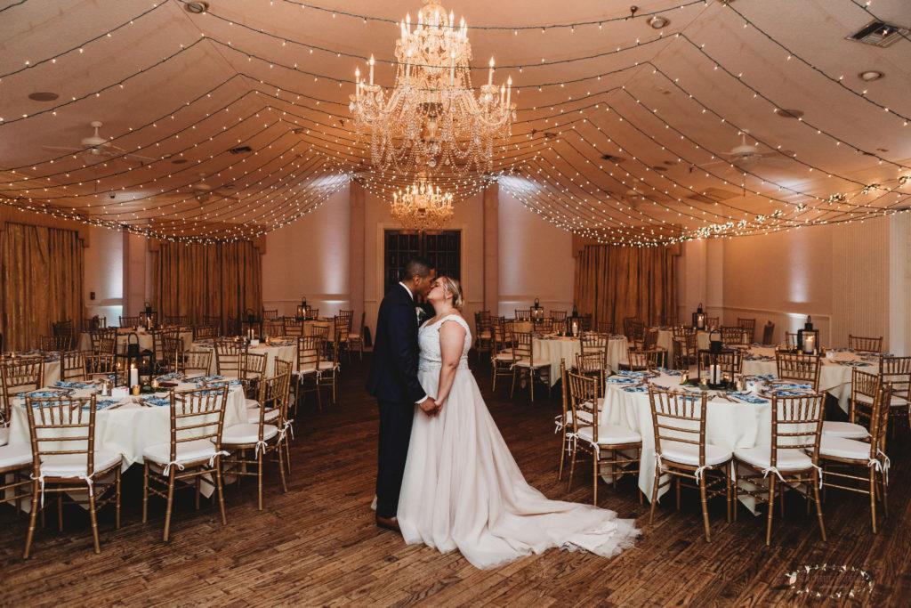 Lighted Canopy at Highland Manor Wedding