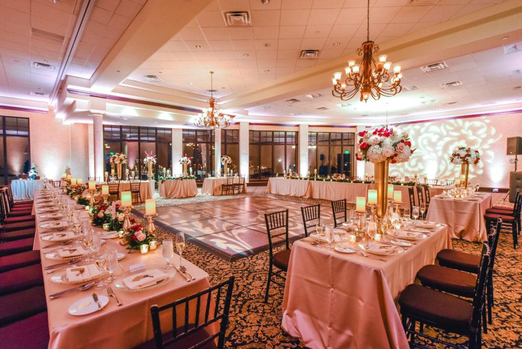 Amazing Lighting Bella Collina Wedding