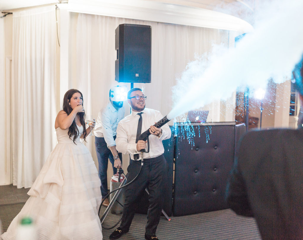 co2 blast wedding