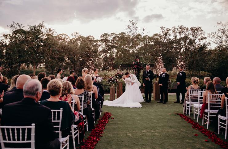 Sparkler box wedding