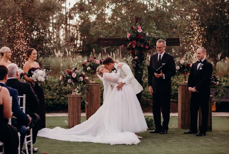 Four Seasons Sparkler Wedding