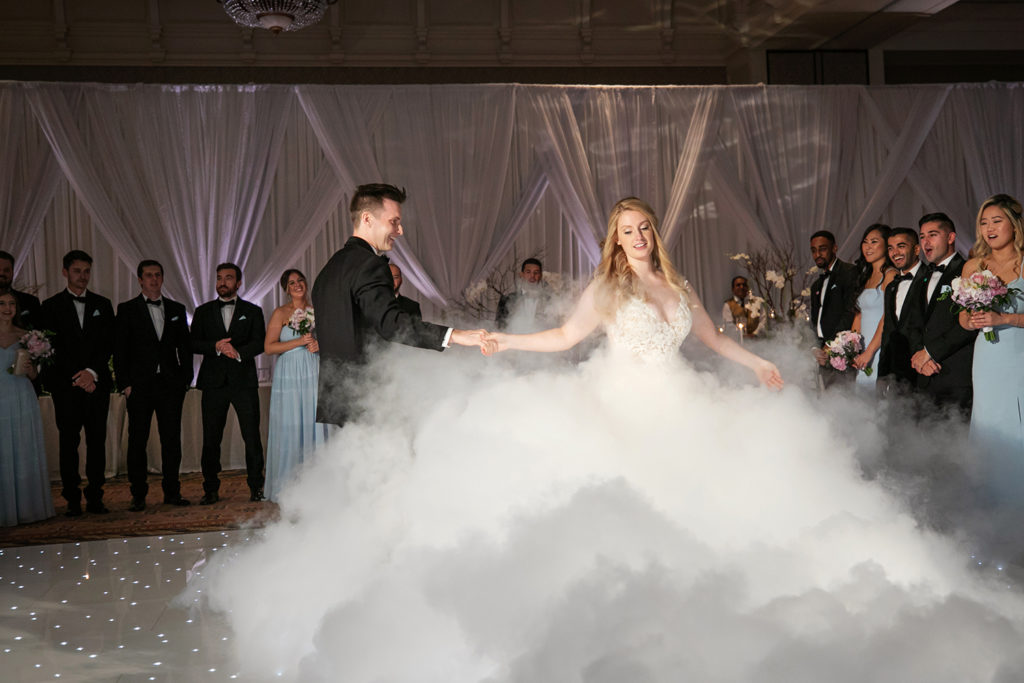 dancing on a cloud wedding