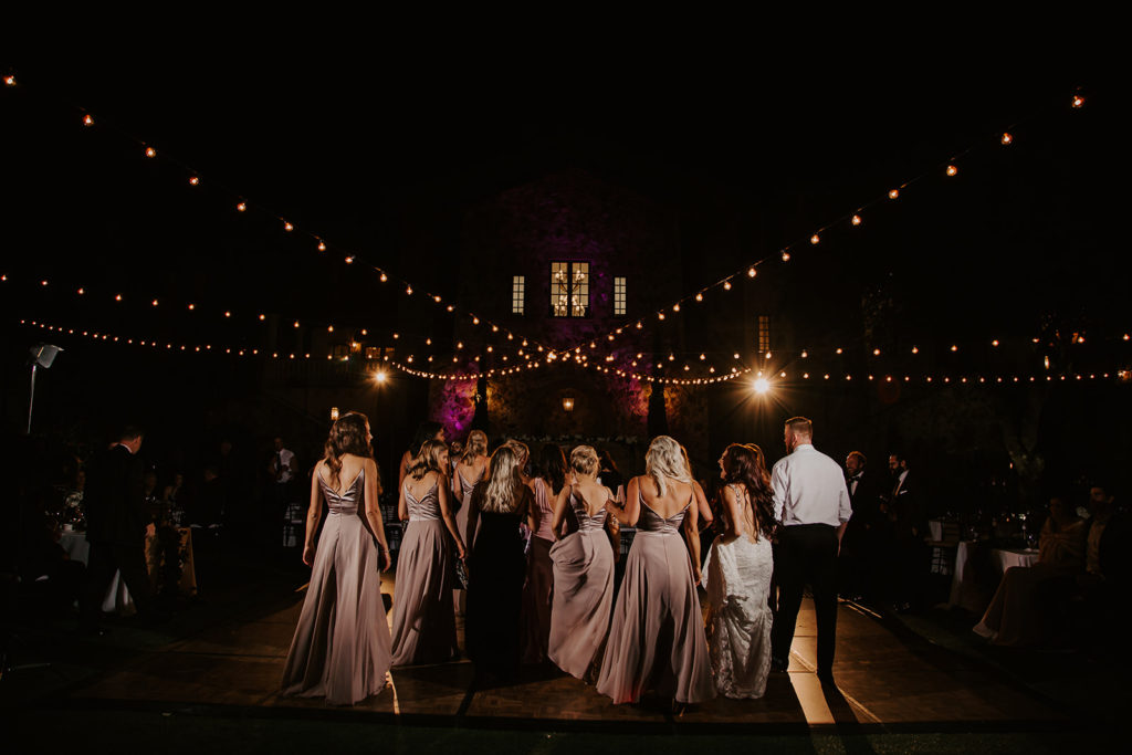 Bella Collina Outdoor Wedding Lighting