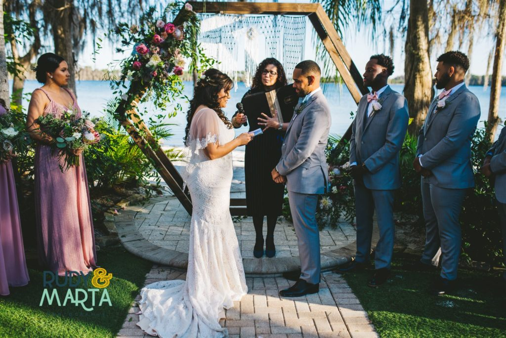 Paradise Cove Wedding Orlando