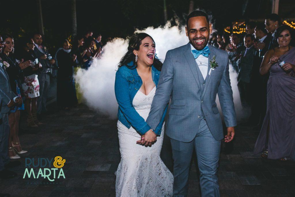 Wedding exit idea
