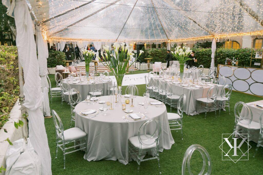 Tent Wedding Alfond Inn Florida