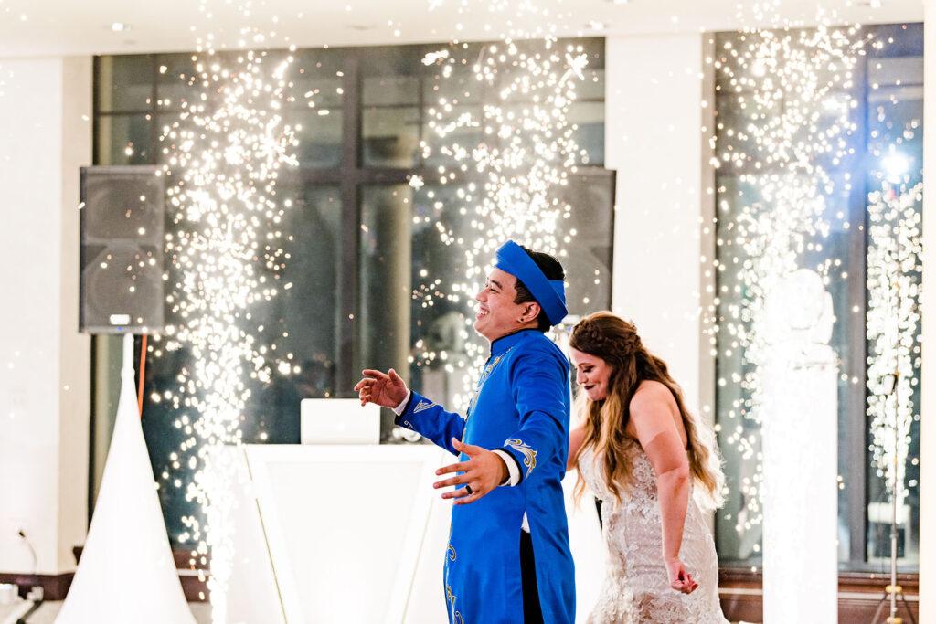 Cold Spark Orlando Wedding